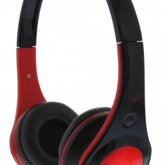 TnB DOTCOM REDHEADPHONES WIRED, ADJUSTABLE HEADBAND, Casti On Ear, Cu fir, Mufa 3, 5mm