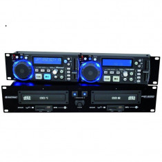 CD Player Dublu Omnitronic XDP-2800 CD Player SD USB MP3 - CD Player DJ