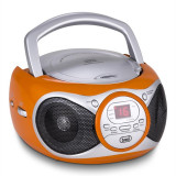 Trevi CD 512 CD player MP3 AM / FM Radio AUX portocaliu