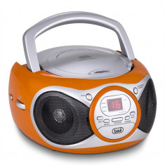 Trevi CD 512 CD player MP3 AM / FM Radio AUX portocaliu