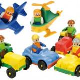 Masinute Plastic Cu Figurina Lena - Masinuta