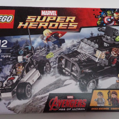 Lego Super Heroes 76030 Confruntarea dintre Razbunatori si Hydra Showdown Nou