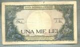 A1195 BANCNOTA-ROMANIA-1000 LEI-23 MARTIE 1943 -SERIA 3010-starea care se vede