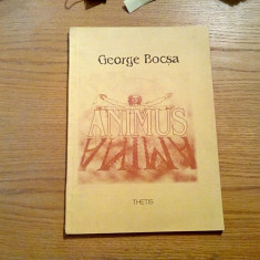 ANIMUSANIMA - George Bocsa - coperta: F. Iaru - ilustratii: Portrete din Fayum