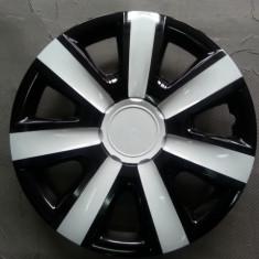 capace roti 14 alb cu negru model spitat