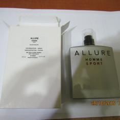 PARFUM TESTER CHANEL ALLURE HOMME SPORT -- 100 ML ---SUPER PRET! - Parfum barbati Chanel, Altul