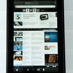 Kindle Fire 7 inch tableta + husa piele - Tableta Kindle Fire
