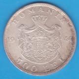 (7) MONEDA DIN ARGINT ROMANIA - 500 LEI 1944, REGELE MIHAI I, STARE BUNA, PATINA - Moneda Romania