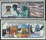 !!! SUA = FANTASY NOTE =  ONE  BEAUTIFUL  AMERICA  - 2014 - UNC