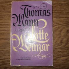 Lotte la Weimar de  Thomas Mann