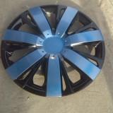 capace roti 15 albastru cu negru model spitat