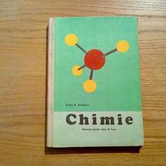 CHIMIE * Manual anul III Liceu - Costin D. Nenitescu - 1972, 175 p.