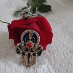Set argint brosa si inel Kabyle - Set bijuterii argint