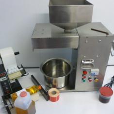 Presa de ulei universala cu presare la rece