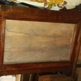 Rama de oglinda restaurata