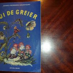 PUI DE GREIER ( carte pentru copii, contine ilustratii color ) * - Carte de povesti