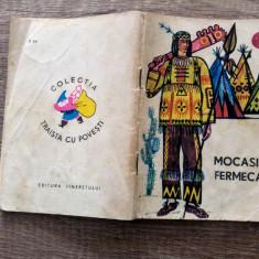 Mocasinii fermecati (legende ale indienilor)/ Traista cu povesti/ cu ilustratii - Carte de povesti
