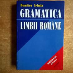 Dumitru Irimia – Gramatica limbii romane - Certificare
