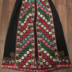 Catrinta Pesteman Fota Veche Costum Popular zona Moldovei Neagra OLD VINTAGE