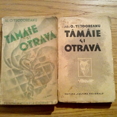 TAMAIE SI OTRAVA - Al. O. Teodoreanu - Cultura Nationala, editia I, 2 vol., 1935