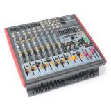 Power Dynamics PDM-S1203A 12-Kanal Mischpult AMP USB DSP MP3 AUX EQ FX - Mixere DJ