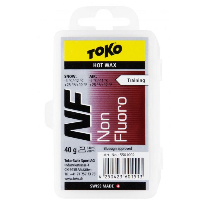 Ceara TOKO NF hot wax red 40g 5501002