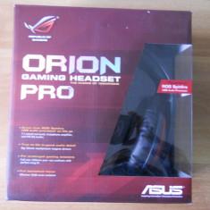 Super Casti Gaming ASUS ROG Orion Pro 7.1. - Casca PC Asus, Casti cu microfon, USB