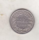 bnk mnd Elvetia 2 franci 1968