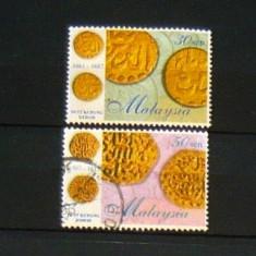 Serie uzata 2V MONEDE DE AUR NUMISMATICA 1998 MALAYSIA  2+1 gratis RBK20310