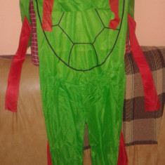 Costum Testoasele Ninja  3-9 ani