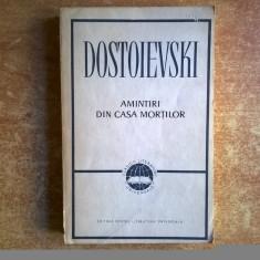 F. M. Dostoievski - Amintiri din casa mortilor - Roman