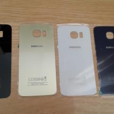 Capac / Spate Baterie Samsung Galaxy S6 gold alb negru albastru - Capac baterie