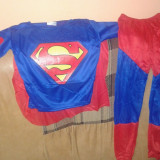 Costum Superman 3-10 ani - Costum copii, Marime: S, M, L, Culoare: Din imagine