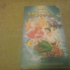 The Little Mermaid - Walt Diseny Classics - VHS - Caseta video - Film animatie, Engleza