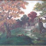 Marin H. Georgescu (1886-1932) * Ulei pe carton - Pictor roman, An: 1929, Peisaje, Altul