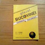GLASUL BUCOVINEI * Cernauti * Bucuresti - An V, Nr. !8 - 2/1998, 119 p.