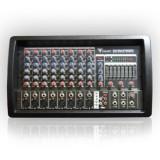MIXER AUDIO AMPLIFICAT CONSOLA DJ M808 USB 2X150W