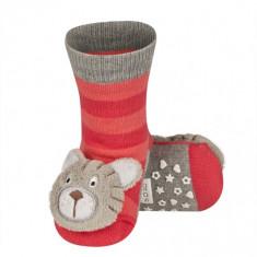 Ciorapei cu talpa antiderapanta Ursulet