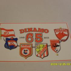 Autocolant sigle anivesar 65 ani Dinamo