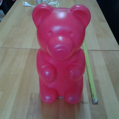 Ursuletul Nicko / lampa de veghe 32 cm, Altele