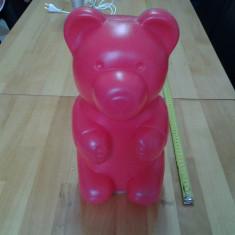 Ursuletul Nicko, lampa de veghe 32*13 cm - Lampa veghe copii, Altele