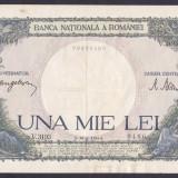 Bancnota Romania 1.000 Lei 2 mai 1944 - P52 XF ( data mai rara ) - Bancnota romaneasca