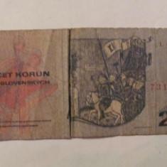 CY - 20 korun (coroane) 1970 Cehoslovacia