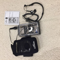 Carcasa si casti Waterproof pentru iPod Classic Apple H2O audio iV6 - Water Case, Negru