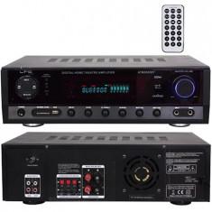 AMPLIFICATOR 5.1 2X50W + 3X20W FM/BT/USB/SD/AUX 2 LINII MIC - Amplificator audio