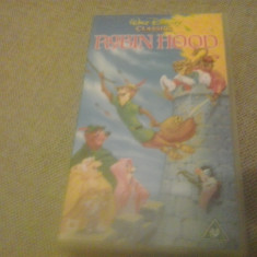 Robin Hood - Walt Disney Classics - VHS - Caseta video - Film animatie, Engleza