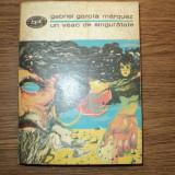 Un veac de singuratate de Gabriel Garcia Marquez - Roman