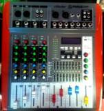 MIXER AMPLIFICAT 400 WATT,MP3 PLAYER USB,AFISAJ,IESIRE 4 BOXE,SUNET HI FI
