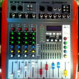 MIXER AMPLIFICAT 400 WATT,MP3 PLAYER USB,AFISAJ,IESIRE 4 BOXE,SUNET HI FI