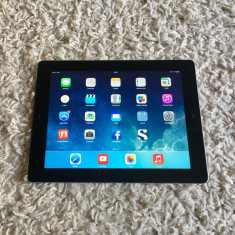 Vand Tableta iPad 3 Apple neagra 4g celular 16 giga Model A 1430 cu husa Originala Cablu de date original, Negru, 16 GB, Wi-Fi + 4G